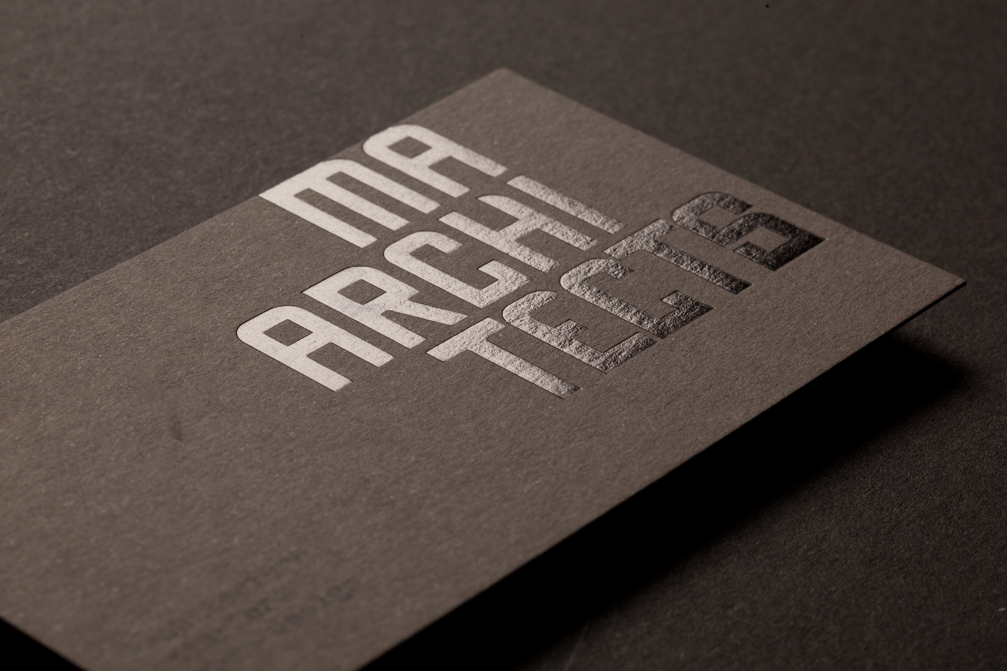 Architect Cards press print digital melbourne | ma architects business cards